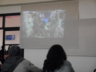 مجموعة مدارس الإقامة بخريبكة والمبادرة الفريدة بتمكين المتعلمين من ربط الاتصال المباشر بالفضاء