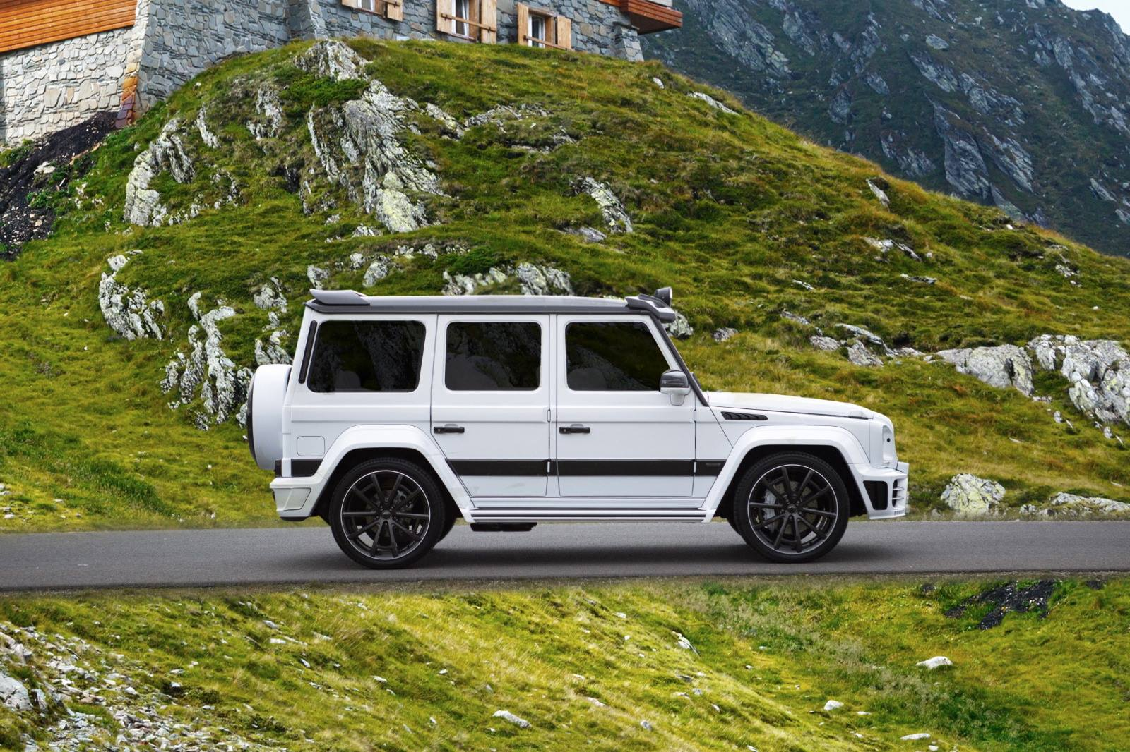 2016 mercedes benz g63 amg mansory gronos facelift for Mercedes benz g class amg