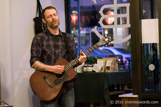 Rocky Votolato Living Room Concert at Through Being Cool vegan bakery in Toronto, April 20 2016 Photos by John at One In Ten Words oneintenwords.com toronto indie alternative live music blog concert photography pictures