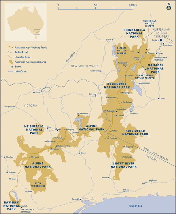 Map Of Australia Mt Kosciuszko.Ian Fraser Talking Naturally Kosciuszko National Park 1 On Top