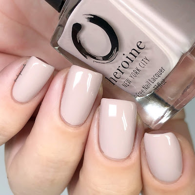heroine NYC between the sheets swatch the nude romantics collection