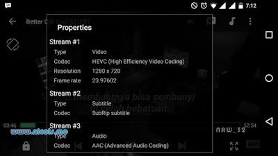 Play HEVC video on android