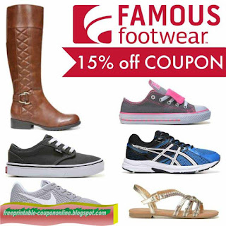 Free Printable Famous Footwear Coupons