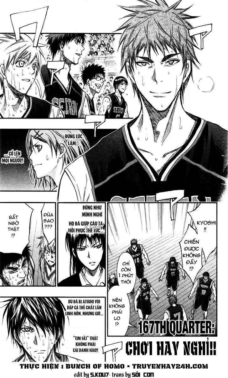 Kuroko No Basket chap 167 trang 1