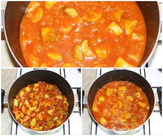tocanita de dovlecei, legume calite pentru mancare, dovlecei si legume de post, preparare mancare de dovlecei si legume de post, cum facem mancare de dovlecei, retete culinare de post,