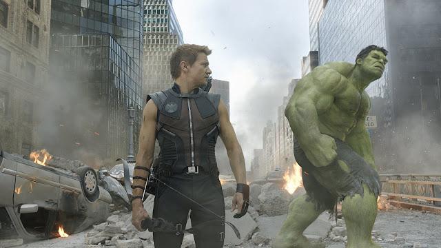 Hawkeye und der Hulk