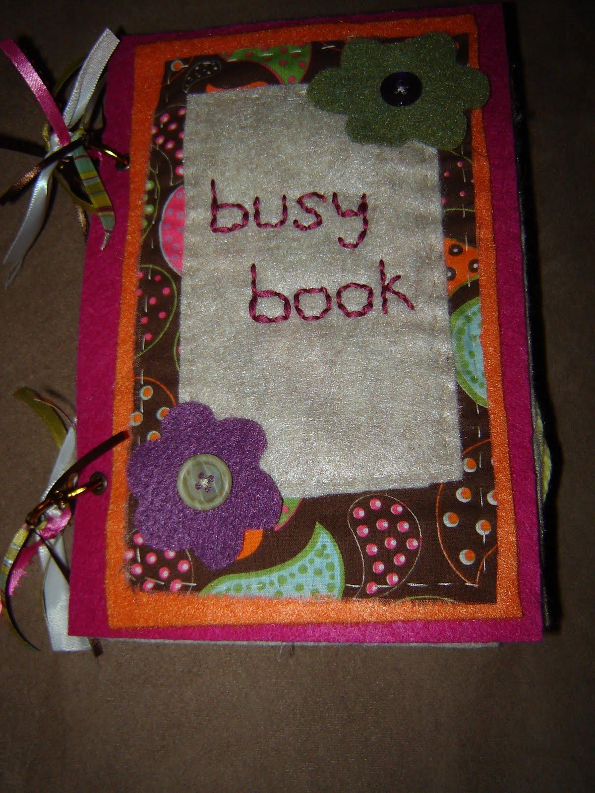 Simplee Darling Busy Book