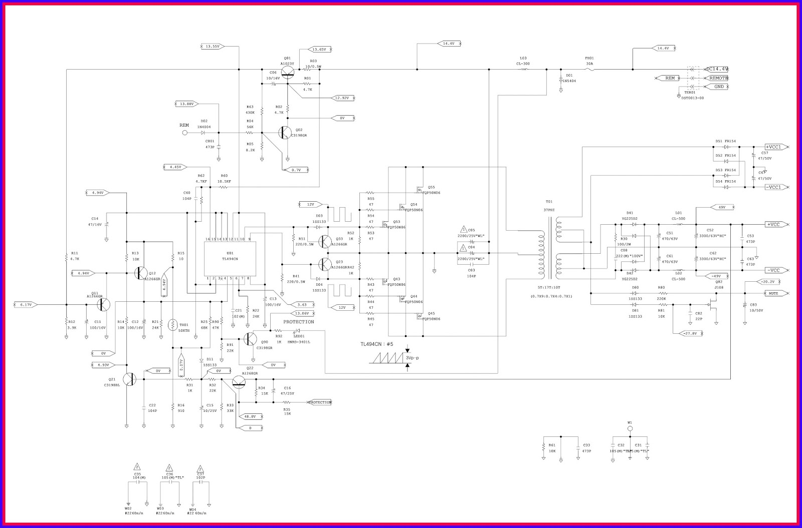 Electronic Equipment Repair Centre Jbl Gto Series 3011 Car Wiring Diagram Amplifier Troubleshooting And Circuit