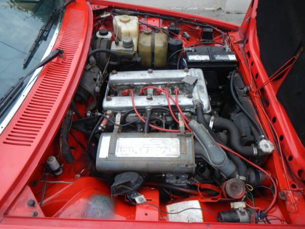 1977 Alfa Romeo GTV Engine