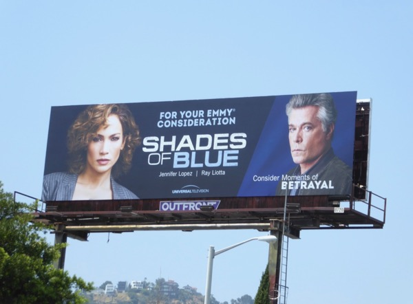 Shades of Blue season 2 Emmy FYC billboard