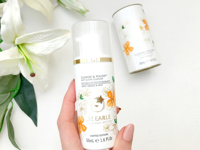 Liz Earle Cleanse & Polish, Liz Earle, Liz Earle Sweet Orange and Mint Hot Cloth Cleanse & Polish, Liz Earle Sweet Orange and Mint Hot Cloth Cleanse & Polish Limited Edition, Liz Earle Limited Edition, Liz Earle Limited Edition Wash, Liz Earle Limited Edition Cleanser,