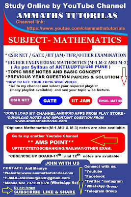 AMMATHS TUTORIALS : ABOUT US