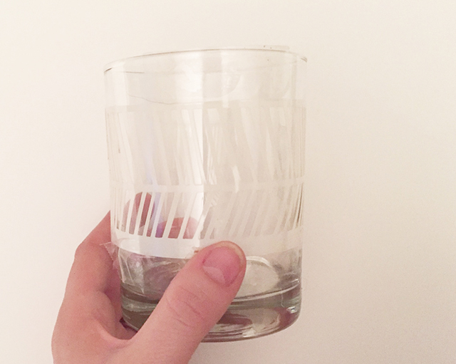 DIY // ETCHED GLASS TUMBLERSOh So Lovely Blog