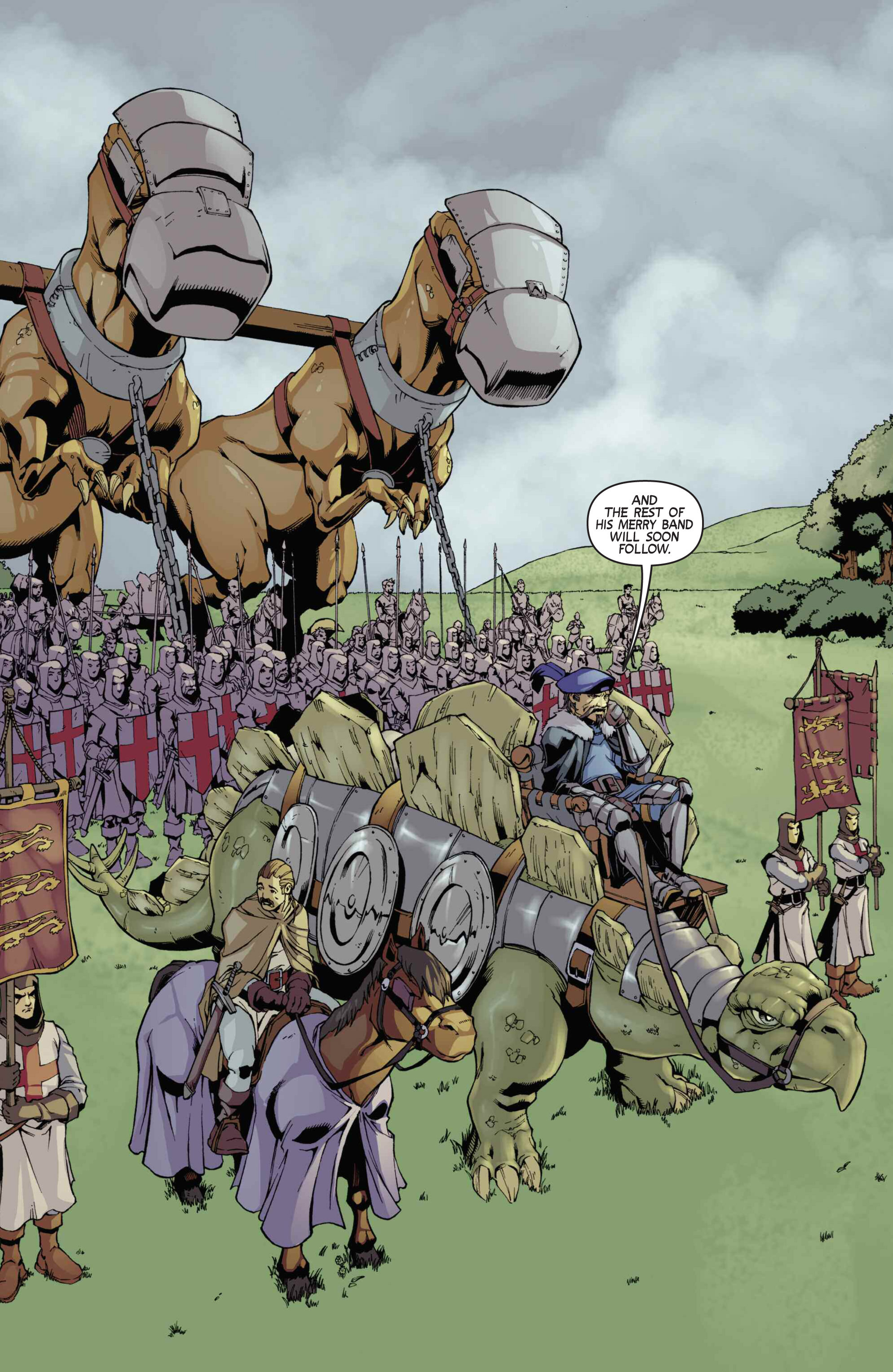 Read online Turok: Dinosaur Hunter (2014) comic -  Issue # _TPB 3 - 72