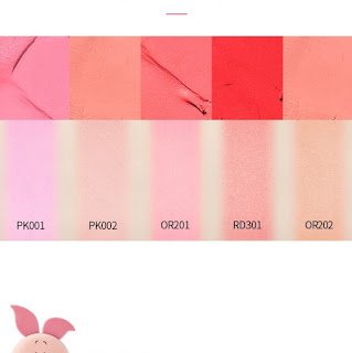 Etude House - Happy with Piglet Jelly Mouse Blusher