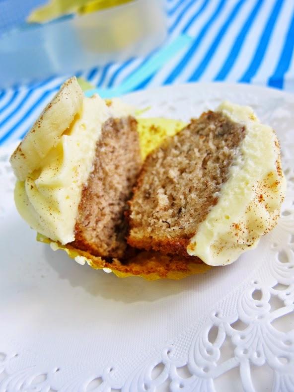 Moist Banana Cupcakes