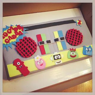 Cakes By Becky Yo Gabba Gabba Birthday