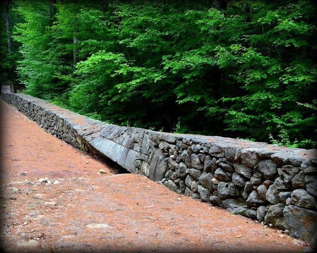 Twisted Stones, New Durham, New Hampshire, rare, stone fence