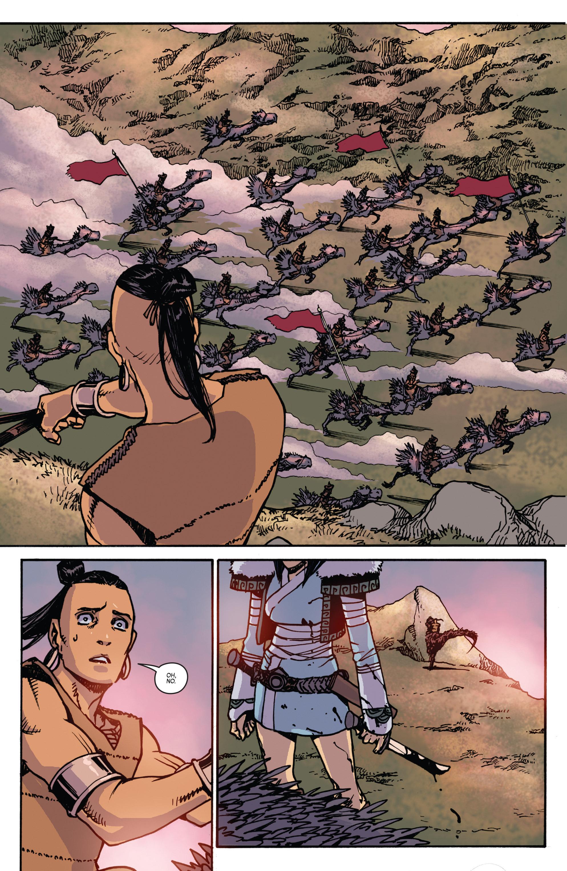 Read online Turok: Dinosaur Hunter (2014) comic -  Issue # _TPB 2 - 70