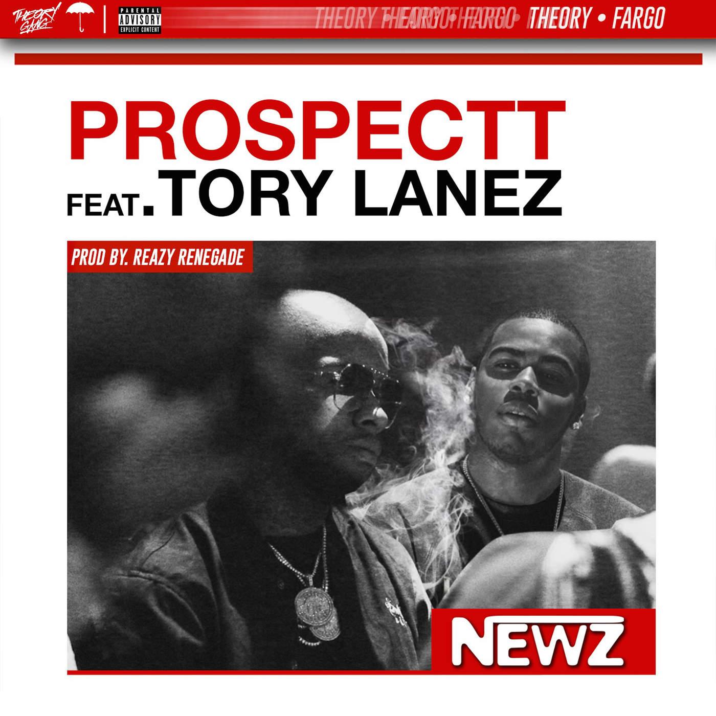 Prospectt - Newz (feat. Tory Lanez) - Single Cover