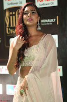 Prajna Actress in backless Cream Choli and transparent saree at IIFA Utsavam Awards 2017 0080.JPG
