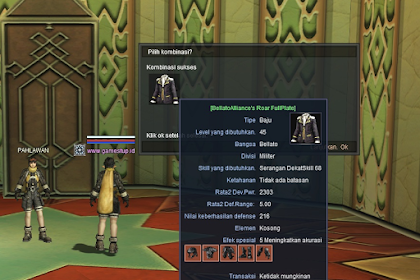 Cara Membuat Archon Uniform dan Guild Master Uniform - RF Online