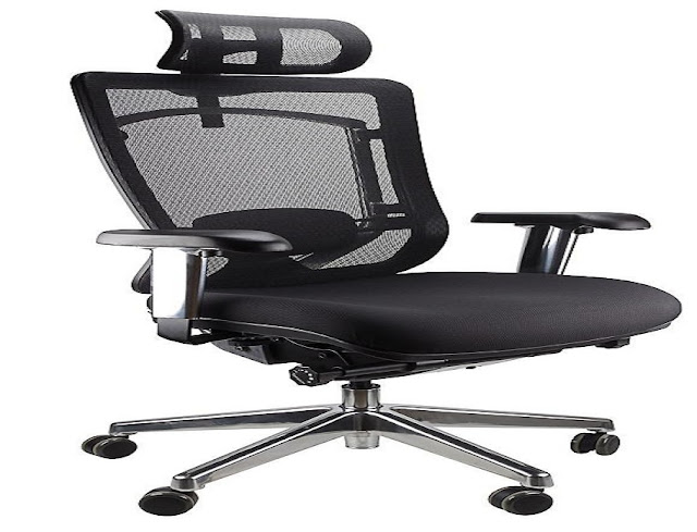 best buy deluxe mesh ergonomic office chair with headrest for sale