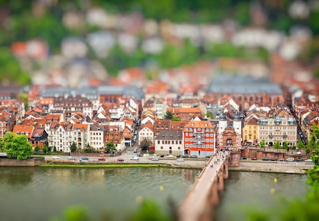 Thành phố Heidelberg cổ kính của Cộng hòa Liên bang Đức