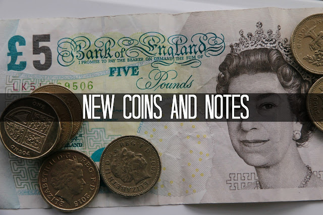 New coins and notes