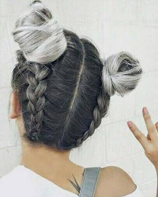 peinados de niñas con trenzas tumblr