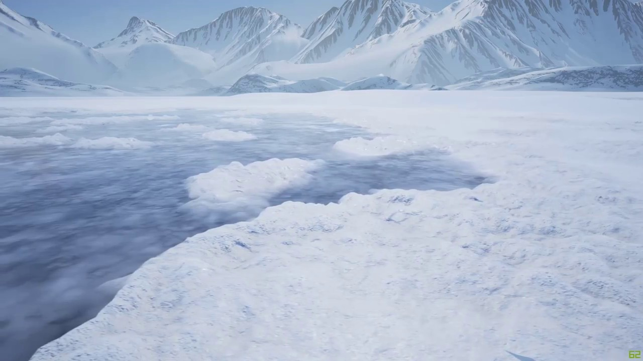 Ice and Snow Materials for UE4 | Computer Graphics Daily News