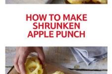 Shrunken Apple Punch Recipe