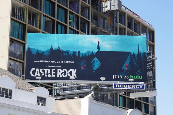Castle Rock series launch billboard