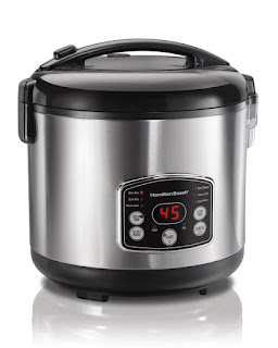 DOWN PRICE HALMITON BEACH, Digital Rice Cooker Food Steamer,4.75 Litre by amazon