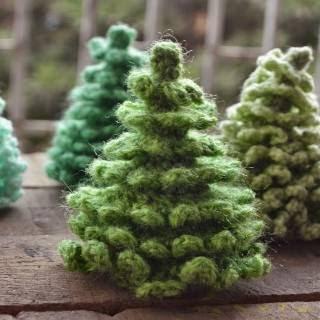Patrones para tejer árbol de navidad al crochet en punto cocodrilo ... | 320x320