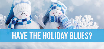 5 Tips for Beating the Holiday Blues, depression, anxiety, holidays, exercise