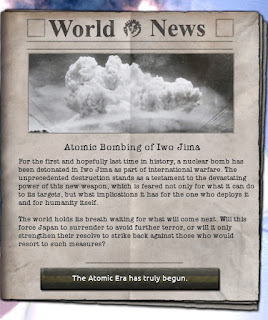 Hearts of Iron IV, My Atomic Crimes iwo jima nuke message