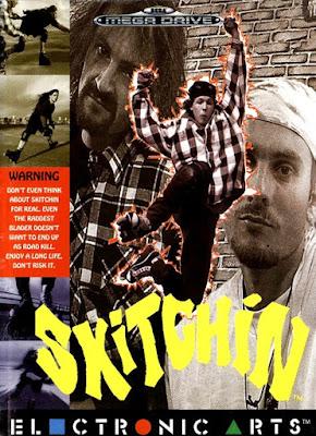Review - Skitchin' - Mega Drive