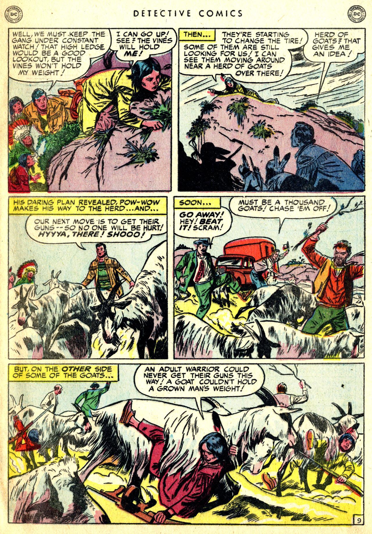 Read online Detective Comics (1937) comic -  Issue #168 - 49