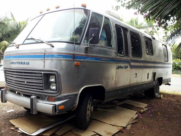 used rvs 1982 airstream excella motorhome for sale for sale by owner. Black Bedroom Furniture Sets. Home Design Ideas