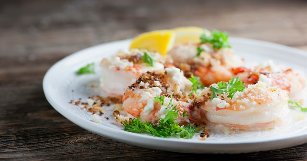Roasted Shrimp With Bread Crumbs Recipe