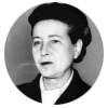 """""""The curse which lies upon marriage  is that too often the individuals are  joined in their weakness rather  than in their strength-each asking from the other  instead of finding pleasure in giving."""" - Simone de Beauvoir"""
