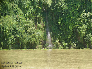 Mini waterfall Kaptai Lake