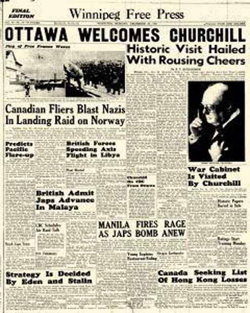 Winnipeg Free Press, 29 December 1941 worldwartwo.filminspector.com
