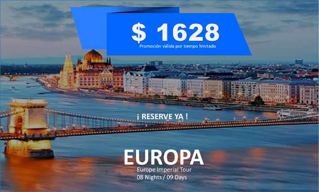 imagen  Europe Imperial Tour  08 Nights / 09 Days
