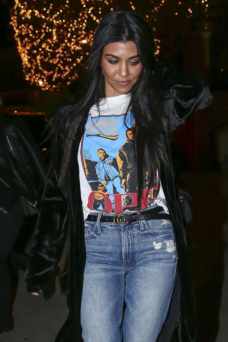 Kourtney Kardashian : Sugarfish Sushi, à Calabasas le 8 décembre 2016.
