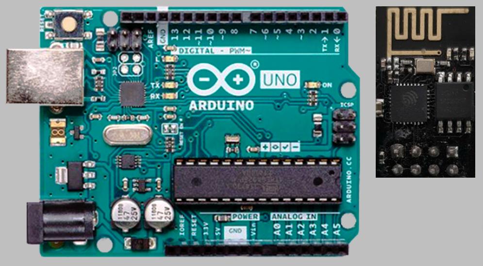 WebServer: Arduino UNO com WiFi ESP01 - Fernando K Tecnologia