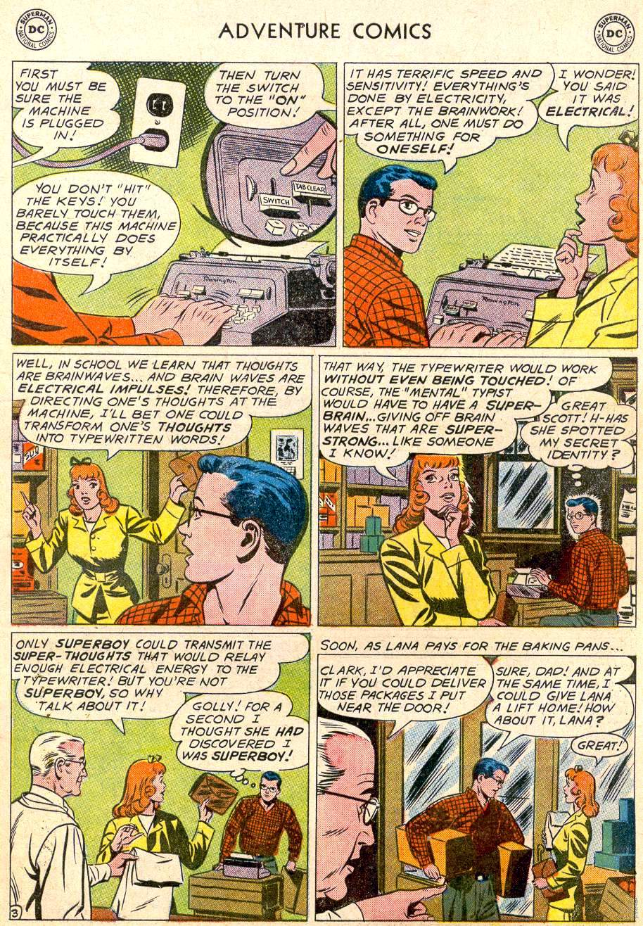 Read online Adventure Comics (1938) comic -  Issue #283 - 5