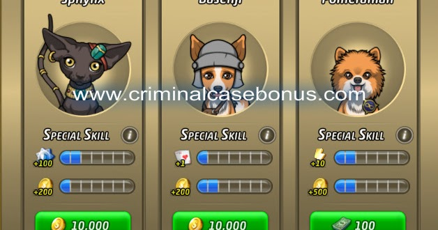 Criminal Case Travel In Time New Pet Shop Is Available
