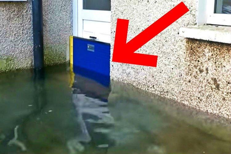 Dam Easy 70 santimetreye kadar yükselen sel baskınlarından koruyabilir.